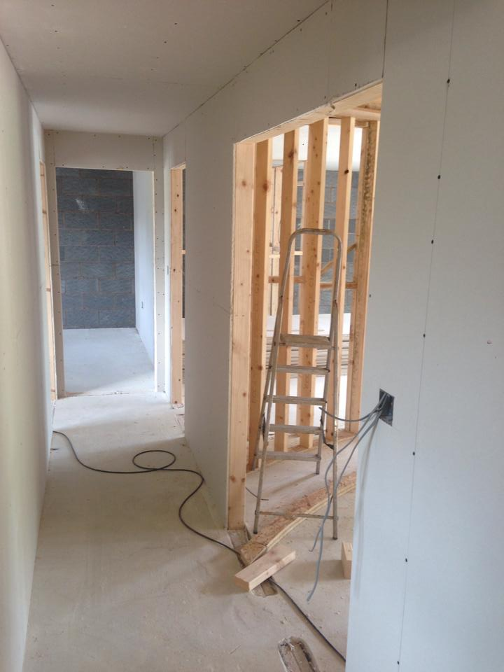 Dry lining work undertaken North Devon