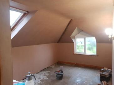 Experience in plastering of all kinds